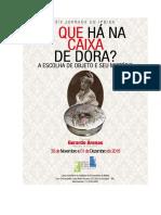 Argumento -Eixos - Bibliografia - XIX Jornada Do IPB Bahia
