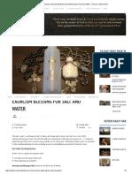 Exorcism Blessing for Salt and WaterExorcism Blessing for Salt and Water - Roman Catholic Man.pdf