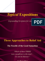Bible Message - Three Approaches to Relief Aid