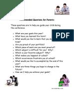 questions parents