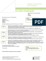Cover Letter Example Guide