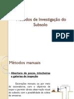 Métodos+de+investigação+do+subsolo