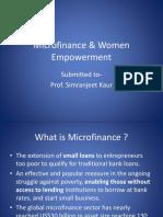 95824008 Micro Finance Women Empowerment
