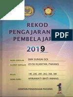 Contoh ERPH Pahang