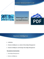 knowledgemanagementandbusinessintelligence-131205202446-phpapp01