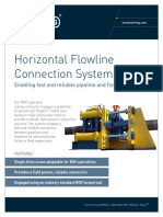 PRS Diverless Connection System Horizontal
