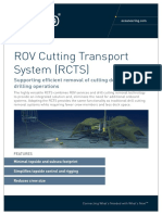 ROV Cutting Transport System (RCTS) A4