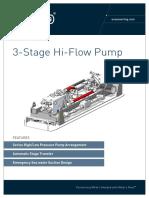 ST&R High Flow Pump (3 Stage)