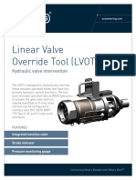 ST&R Linear Valve Override Tool
