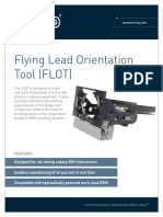 ST&R Flying Lead Orientation Tool (FLOT)