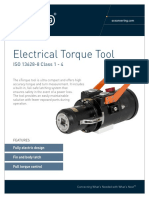 ST&R Torque Tool Class 1 4 Electrical