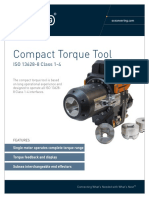 ST&R Torque Tool ISO 13628 8 Compact Class 1 4