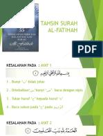 Tahsin Al Fatihah