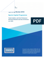 Irish Government Spending Review 2018 Sports Capital Programme