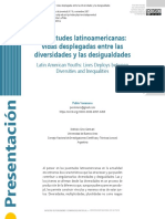 Vommaro. Juventudes latinoamericanas