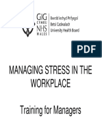 Stress Management Training Presentation Jan 2011