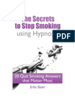 Secrets to Stop Smoking Using Hypnosis Book