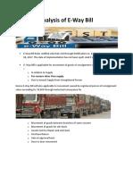 analysis on e_way bill rules.pdf