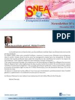 SNEA Newsletter No1