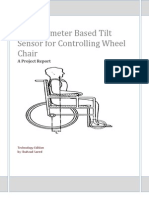 Accelerometer Based Tilt Sensor for Controlling Wheel Chair