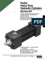Parker 2H Cylinders