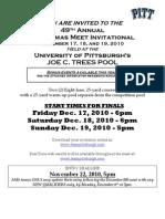 Pittsburgh Christmas Meet Info