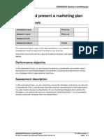 BSBMKG609 Assessment Task 2