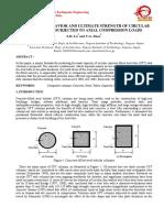 Cfst - Compression Capacity