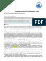 OTC-25163-MS Subsea Wellhead Validation Testing(Dril-quip)