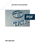 Pest Analysis of Tata Motors