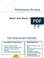 Writing Performance Reviews 9 2010
