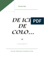 Nicolae Niță - DE ICI, DE COLO... (Vol. III)
