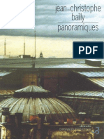 Bailly, Jean-Christophe - Panoramiques (2015, Christian Bourgois, 9782267015621)