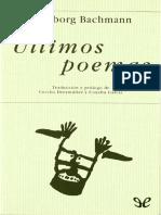 Bachmann Ingeborg - Ultimos Poemas.pdf