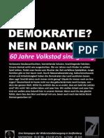Eine Kampagne der Widerstandsbewegung in Senftenberg (Plakat)