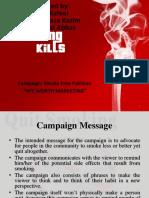 Anti Smoking Campaign.-1