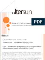 documentation filtersun