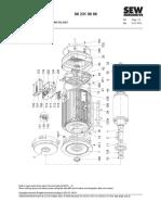 Parts List DR112M-132MC
