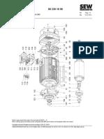 Parts List Dr112m-132mc Fg