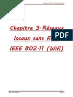R Seaux Locaux Sans Fils IEEE 802.11 Wifi