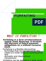 What is Forfaiting
