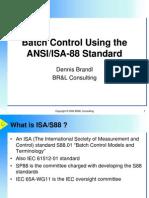 ISA 88 Batch