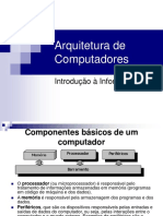organização de computador