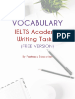 IELTS Writing Task 1 Vocabulary