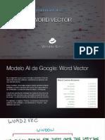 Tendencias SEO 2019 - Word Vector
