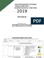 RPT MT Pemulihan Khas 2019