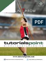 Javelin Throw Tutorial