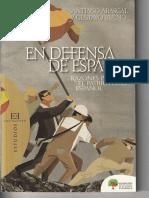 Santiago Abascal, Gustavo Bueno Sánchez. en Defensa de España. Razones Para El Patriotismo Español