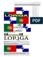 Concise History of the town of Loriga Portugal - História Concisa da vila de Loriga Portugal