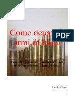 Come Detenere Armi in Italia